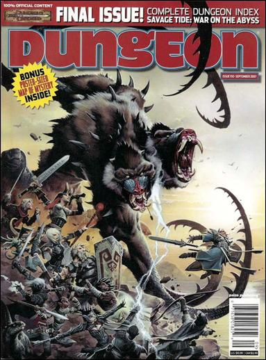 Dungeon 150-A by Paizo Publishing