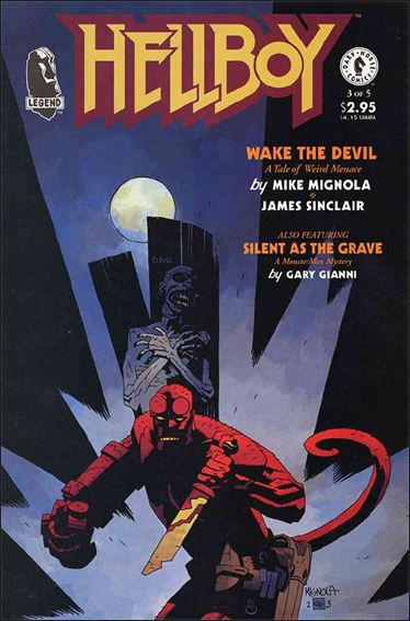 Hellboy: Wake the Devil 3-A by Dark Horse