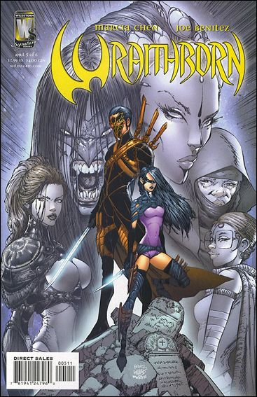 Wraithborn 5-A by WildStorm Signature