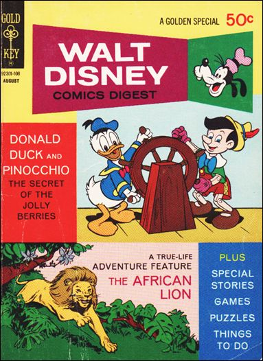 Walt Disney Comics Digest 30-A by Gold Key