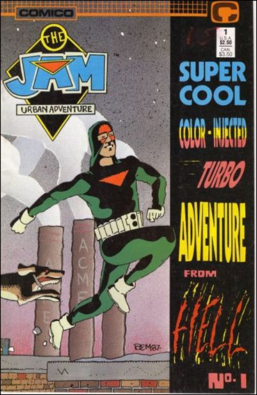 Jam Super Cool Color-Injected Turbo Adventure from Hell 1-A by Comico