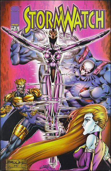 StormWatch (1993) 18-A by Image