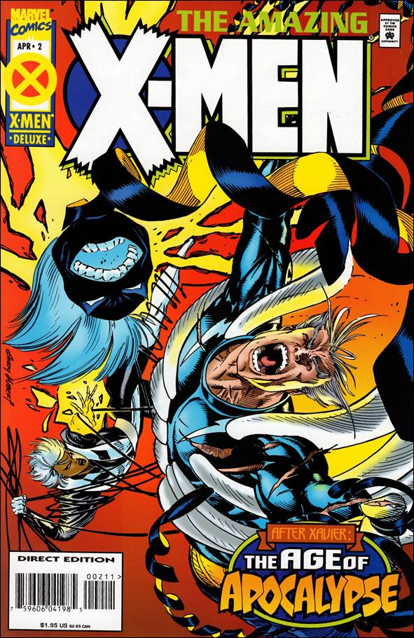 Amazing X-Men (1995) 2-A by Marvel