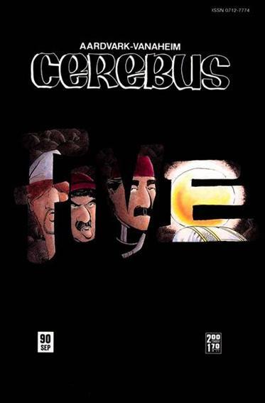 Cerebus 90-A by Aardvark-Vanaheim