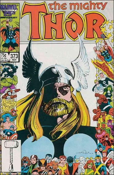 Thor (1966) 373-A by Marvel