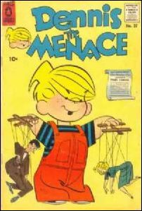 Dennis the Menace (1953) 27-A by Standard