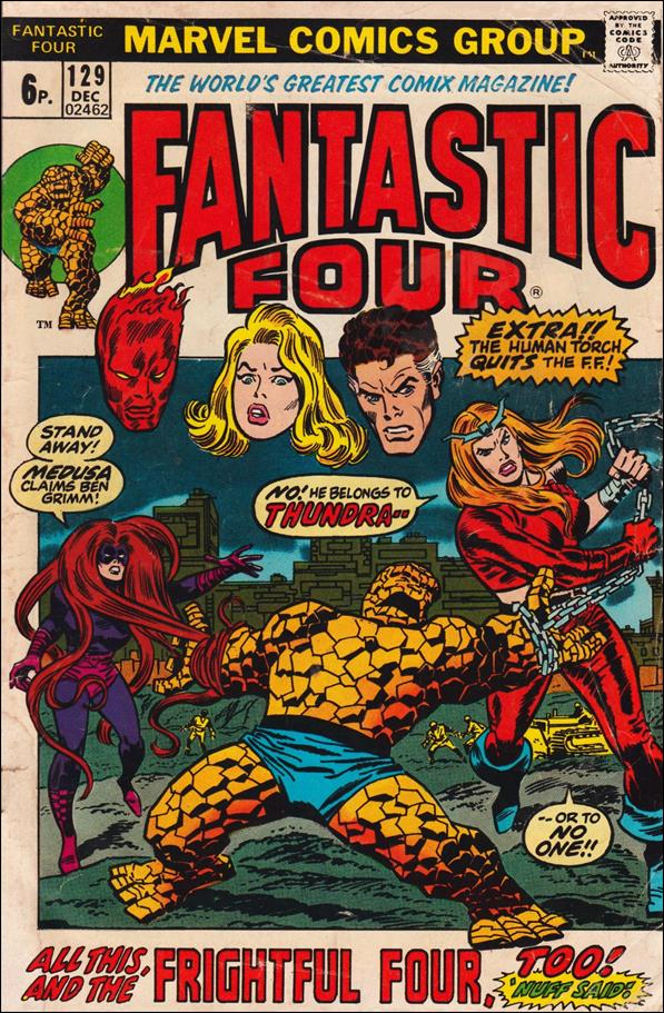 Fantastic Four (1961) 129-B by Marvel