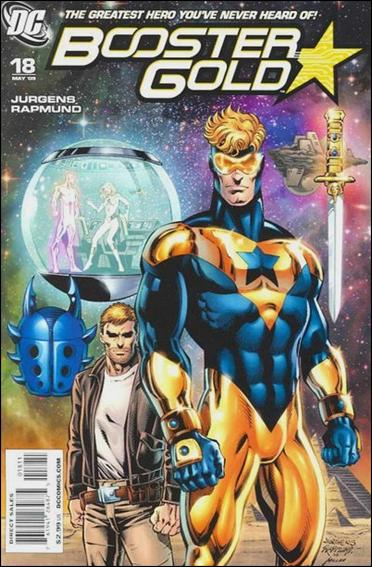 Booster Gold (2007) 18-A by DC
