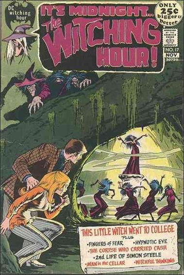 Witching Hour (1969) 17-A by DC
