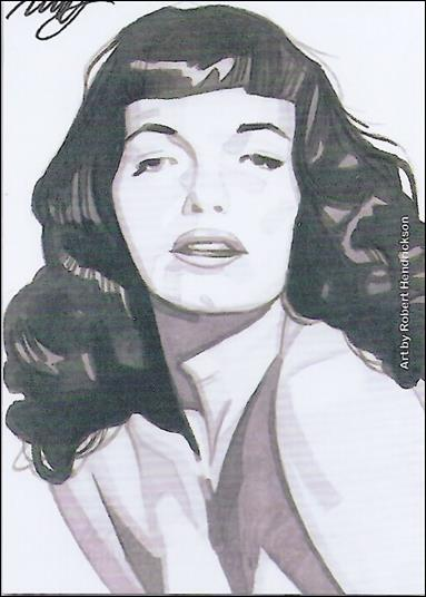 Bettie Page Private Collection (Lost Subset) LOST-1-A by Versicolor Productions