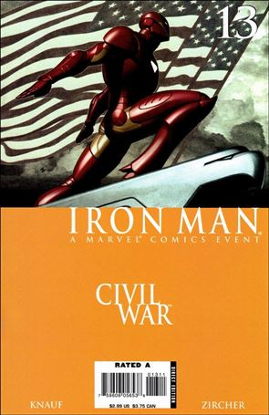Invincible Iron Man (2005) 13-A