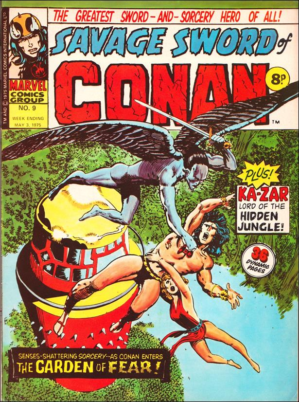 Savage Sword of Conan (UK) (1975) 9-A by Marvel UK