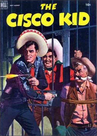 Cisco Kid (1951) 10-A by Dell