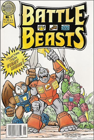 Battle Beasts (1988) 1-A by Blackthorne