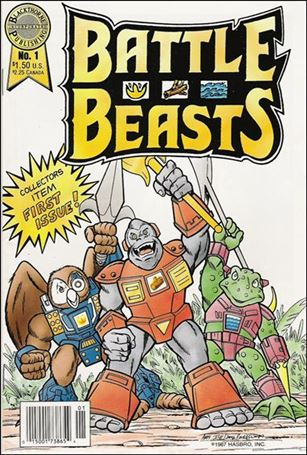 Battle Beasts (1988) 1-A