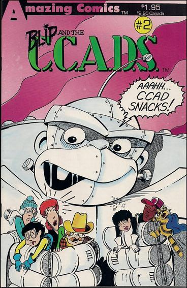 Blip and the C.C.A.D.S. 2-A by Amazing Comics