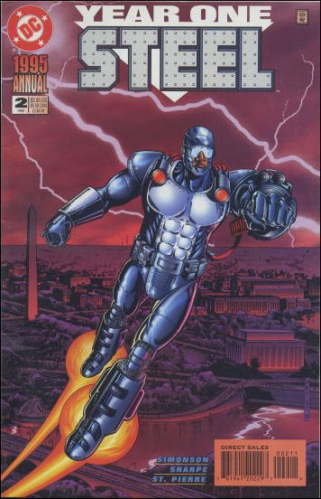 Steel Annual 2-A by DC