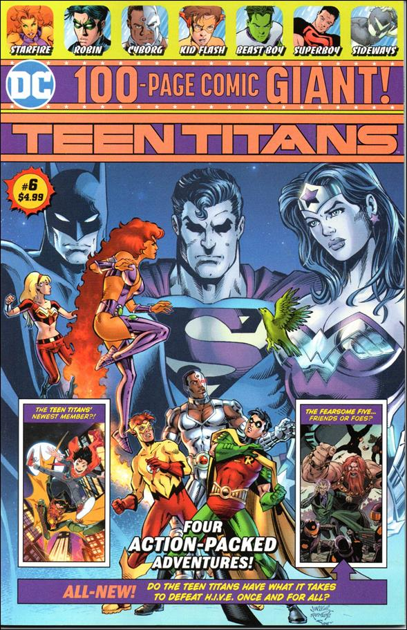 Teen Titans Giant 6-A by DC