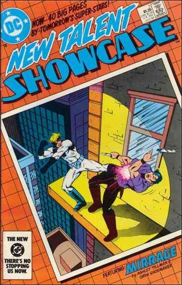 New Talent Showcase (1984) 7-A by DC