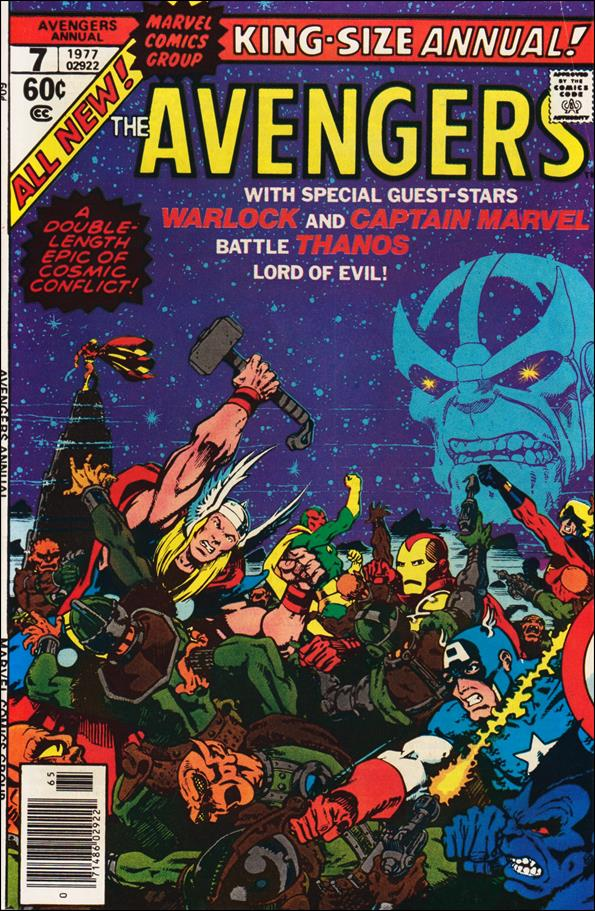 Avengers Annual 7-A by Marvel