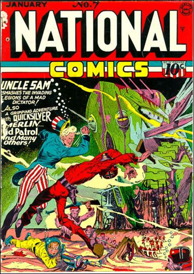 National Comics (1940) 7-A by Quality