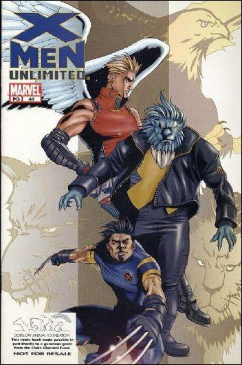 X-Men Unlimited (1993) 44-B by Marvel