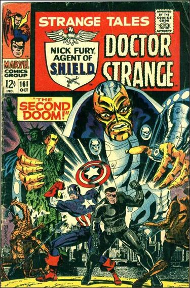 Strange Tales (1951) 161-A by Marvel