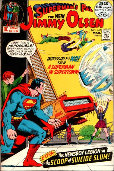 Superman's Pal Jimmy Olsen 147-A by DC