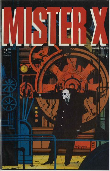 Mister X (1984) 10-A by Vortex Comics