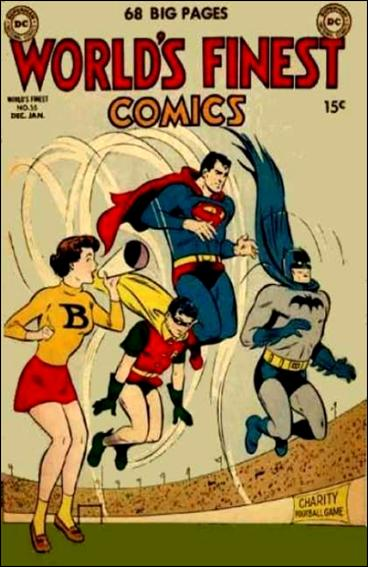 World's Finest Comics 55-A by DC