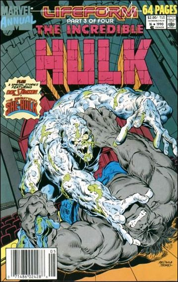 Incredible Hulk Annual  16-A by Marvel