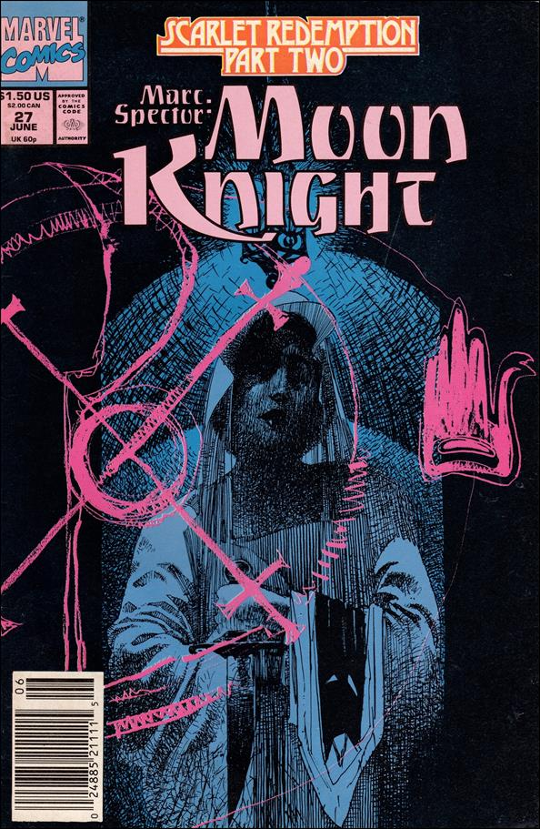 Marc Spector: Moon Knight 27-A by Marvel