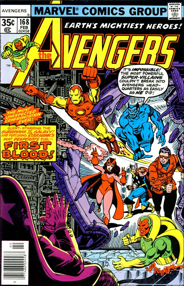 Avengers (1963) 168-A by Marvel