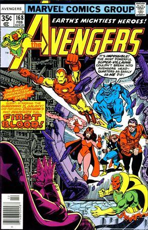 Avengers (1963) 168-A