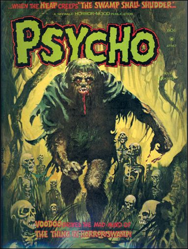 Psycho (1971) 11-A by Skywald