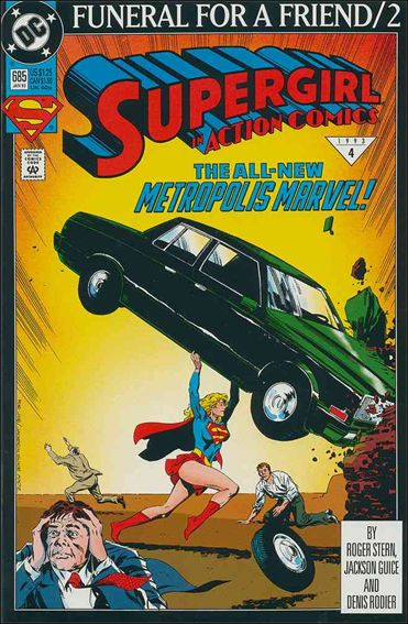 Action Comics (1938) 685-A by DC