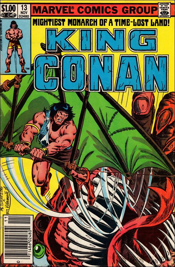 King Conan 13-A by Marvel