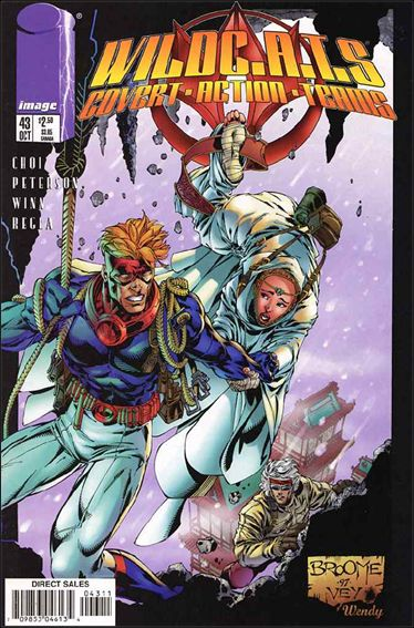 WildC.A.T.s: Covert Action Teams 43-A by Image