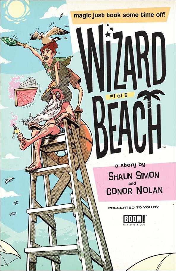 Wizard Beach 1-B by Boom! Studios
