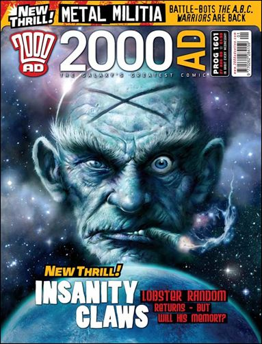 2000 A.D. (UK) 1601-A by Rebellion