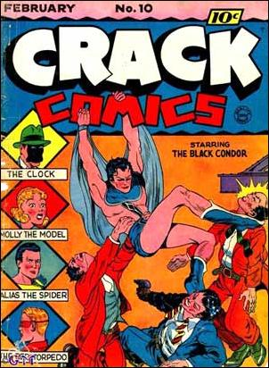 Crack Comics 10-A by Quality