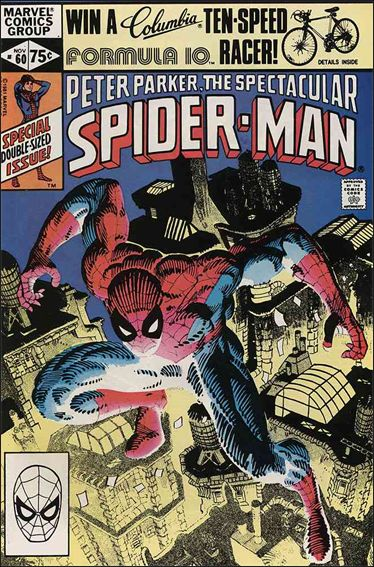Spectacular Spider-Man (1976) 60-A by Marvel