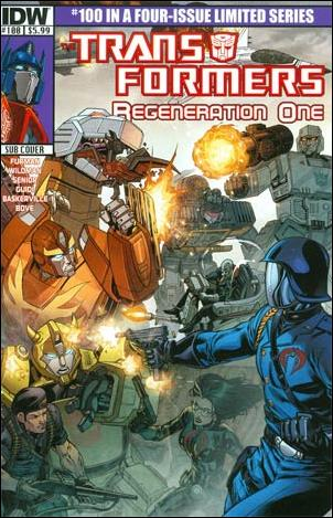 Transformers: Regeneration One 100-C by IDW