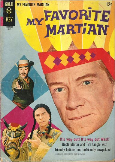 My Favorite Martian (1964) 8-A by Gold Key