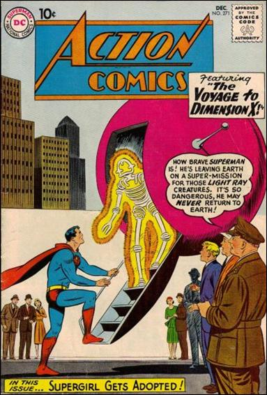 Action Comics (1938) 271-A by DC
