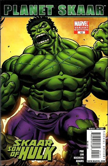 Skaar: Son of Hulk 12-B by Marvel
