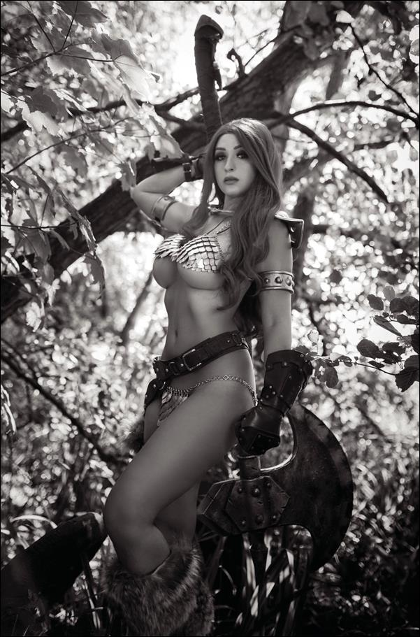 Red Sonja: The Superpowers 1-I by Dynamite Entertainment