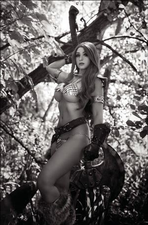 Red Sonja: The Superpowers 1-I
