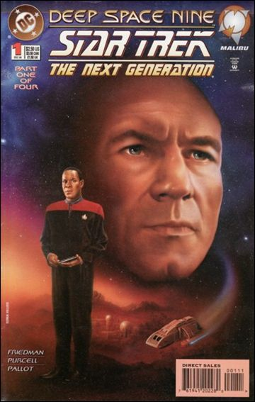 Star Trek: The Next Generation/Star Trek: Deep Space Nine 1-A by DC