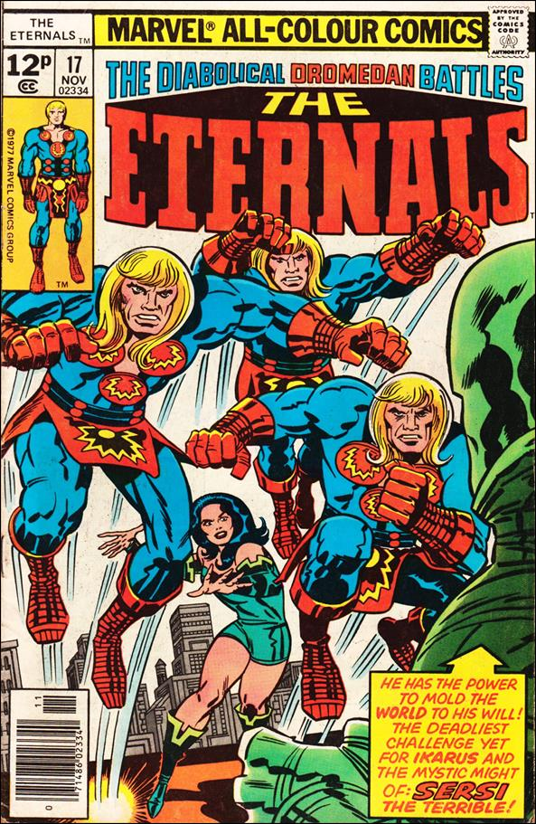 Eternals (1976) 17-B by Marvel